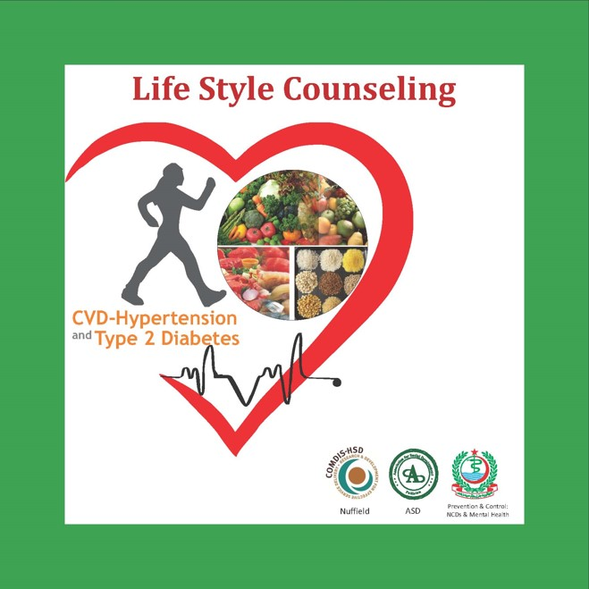 Life Style Counseling: CVD-Hypertension and Type 2..